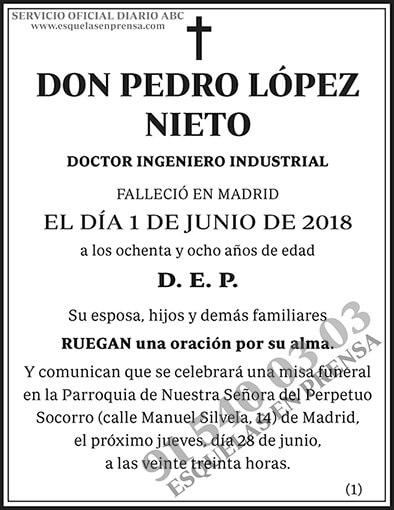 Pedro López Nieto